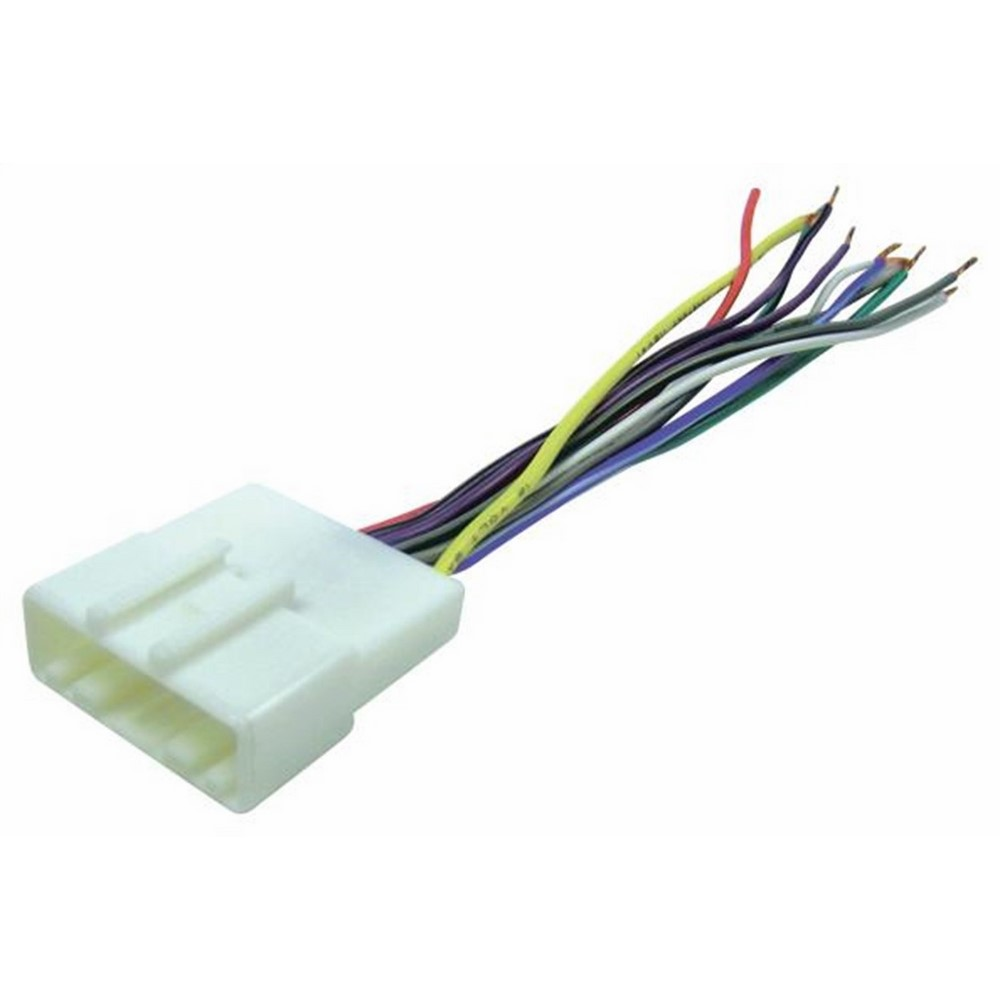 Scosche Radio Wiring Harness For 2007-Up Nissan Car Stereo ... on