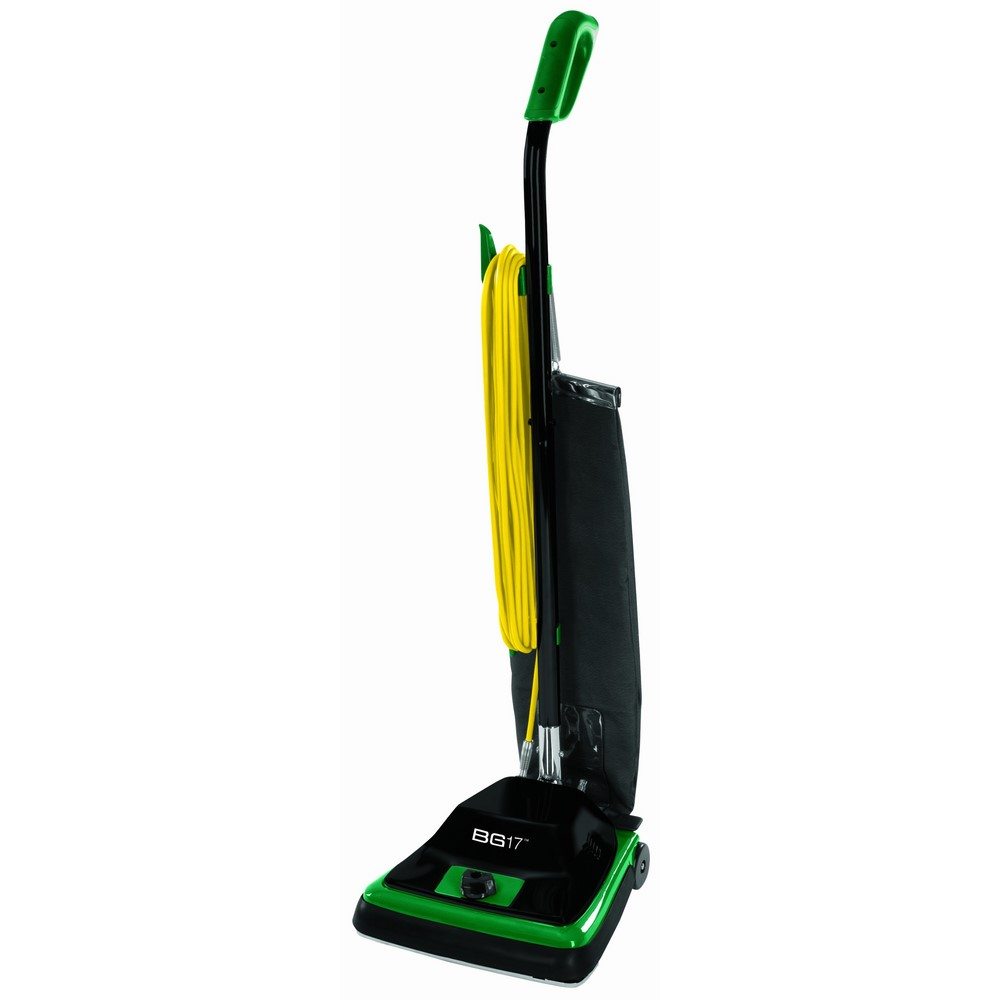 Bissell Biggreen Commercial Bg100 Predough Upright Vacuum With Straight Handle,